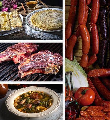 Gastronomía en Los Oscos