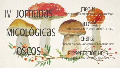 IV jornadas micológicas en Osco